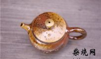 柴烧茶器釉色形成原理