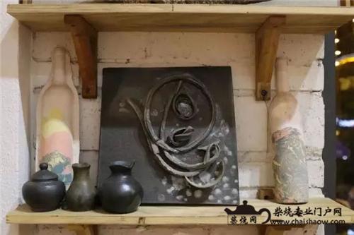 建水紫陶柴烧之潘娟