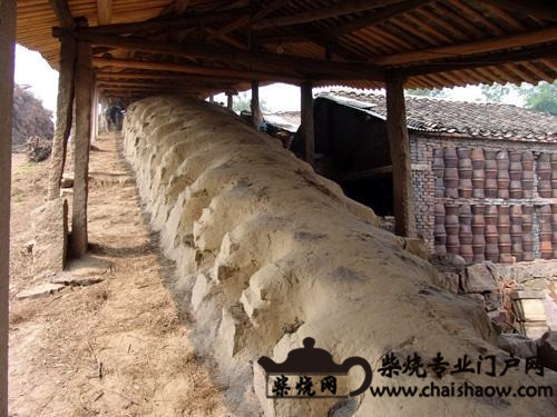 龙窑柴烧及龙窑的结构