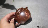 建水紫陶柴烧茶具釉色天然安全吗?