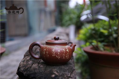 柴烧茶器,柴烧,柴烧壶,紫陶柴烧