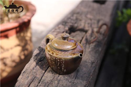 建水紫陶,柴烧,赏析柴烧,柴烧之美,柴烧壶