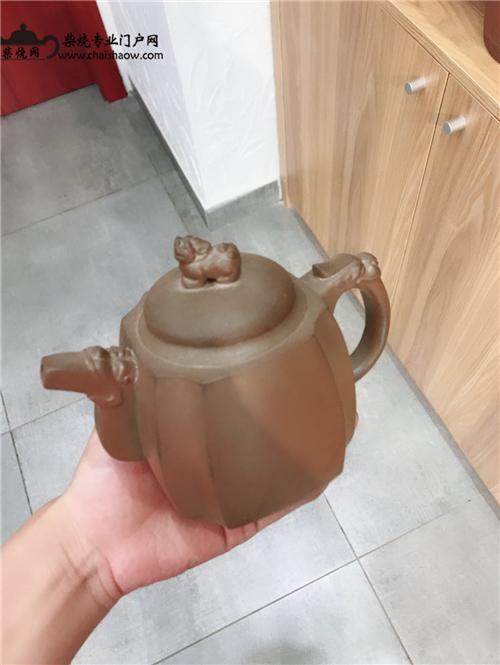 解析建水紫陶柴烧方壶制作过程