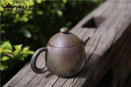 紫陶柴烧-自然天成,可遇不可求