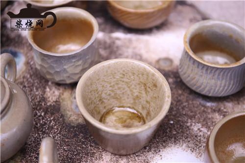 柴烧杯,柴烧,主人杯,品茗杯,柴烧主人杯,建水紫陶柴烧
