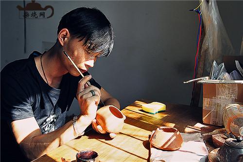 建水紫陶柴烧名家陈朝超
