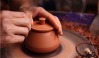建水紫陶为什么少见传统石瓢壶?