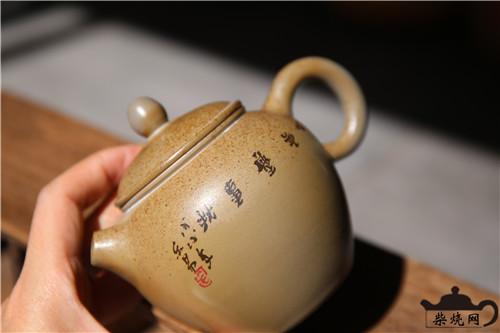 建水白陶,柴烧壶,白陶柴烧,柴烧茶具,柴烧