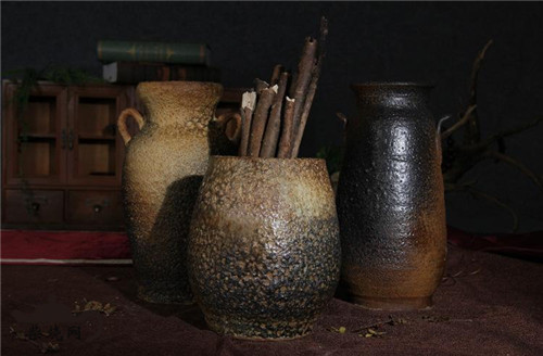 云陶柴烧:临沧碗窑村柴烧土陶