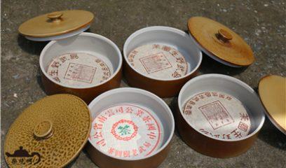 建水紫陶茶叶罐和普洱茶是一对天生伴侣